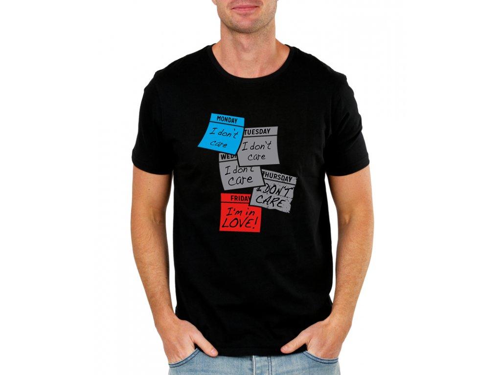 Pánské tričko Miluji Pátek
