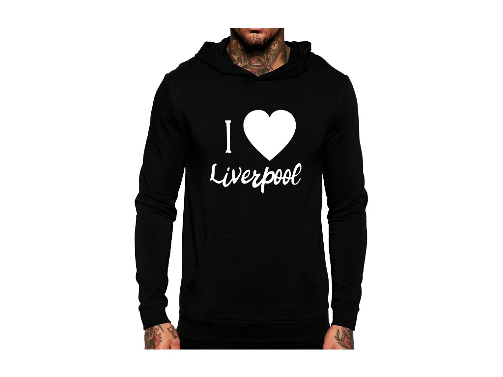 mikina Miluji Liverpool FC