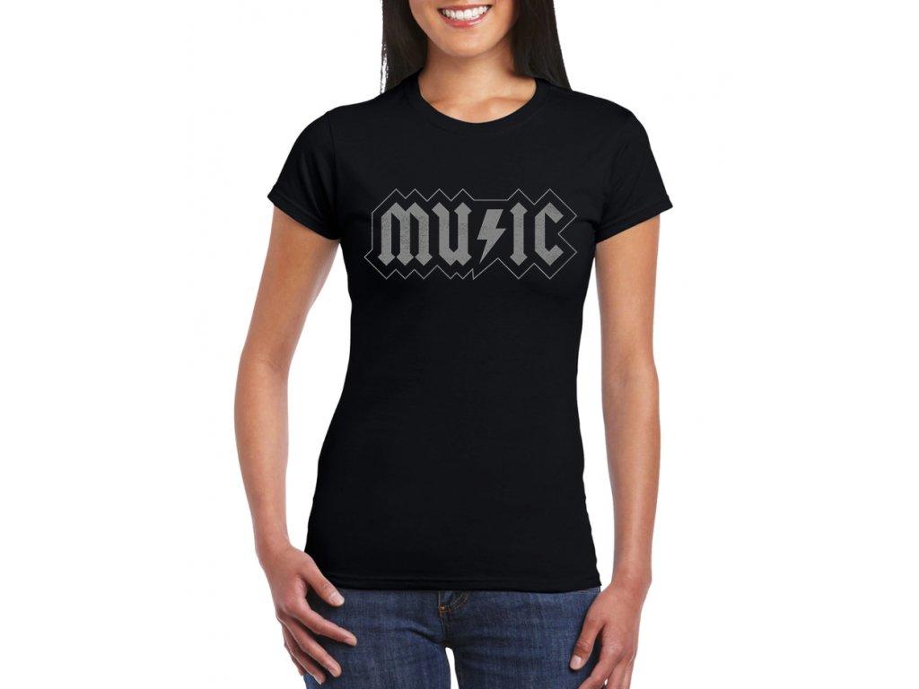 dámské tričko AC DC Music