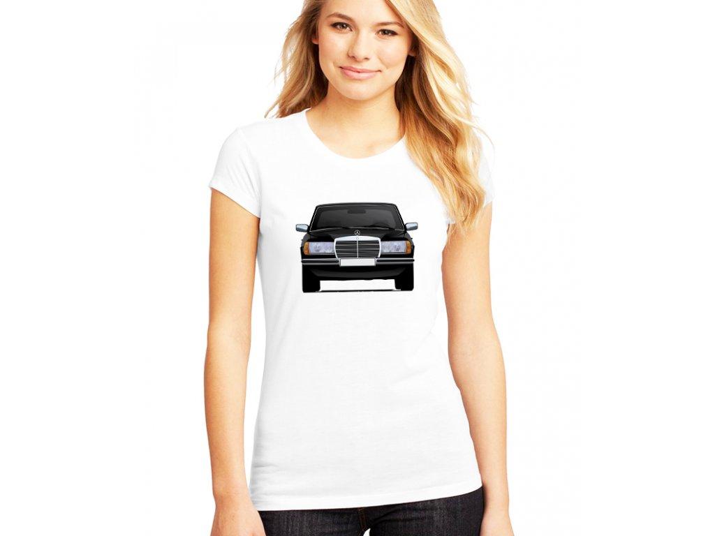 dámské bílé tričko Mercedes Benz W123