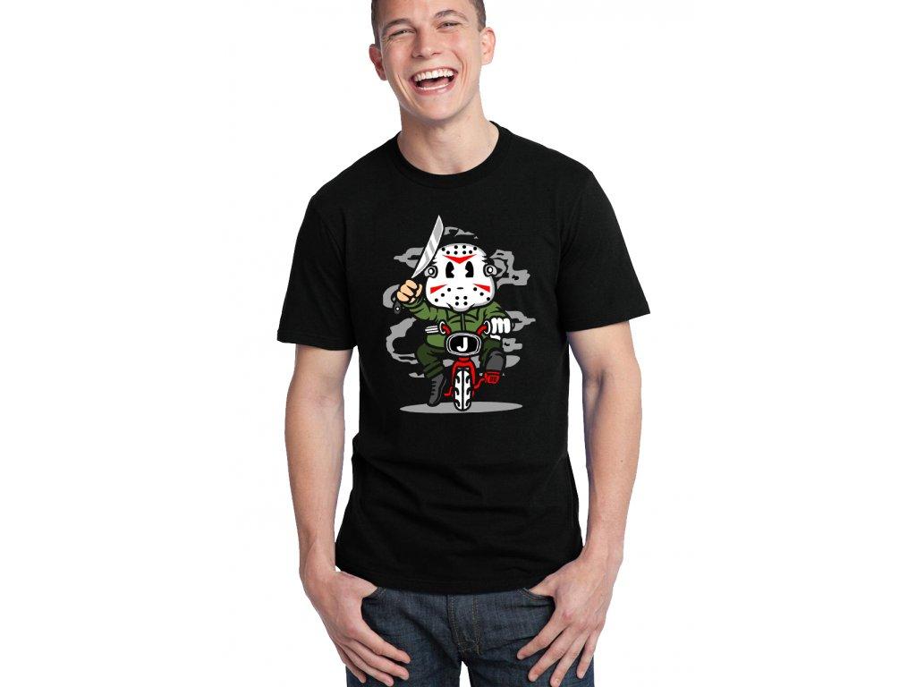 pánské černé tričko Jason Zabiják Pátek 13