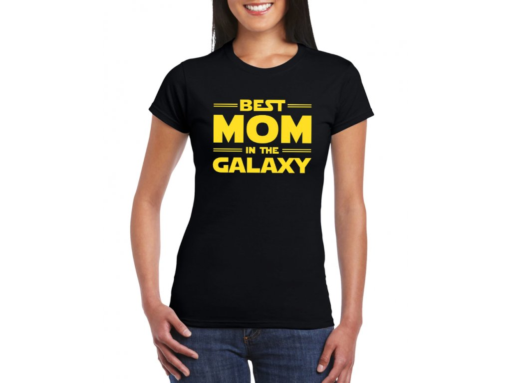 damske tricko Nejlepší Máma v Galaxii