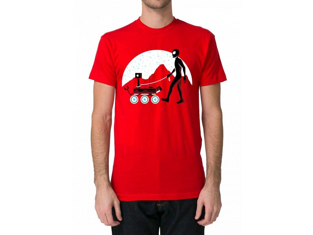 panske tričko Mars