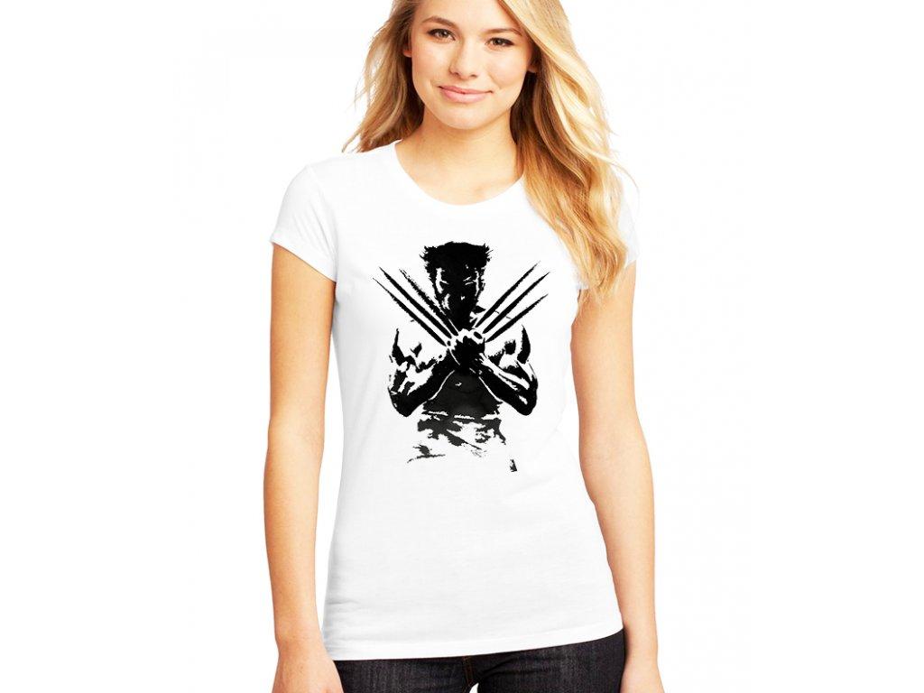 dámské bílé tričko wolverine