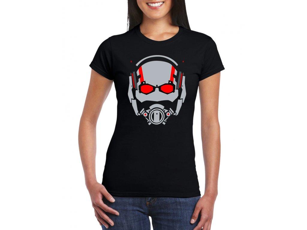 dámské černé tričko ant man