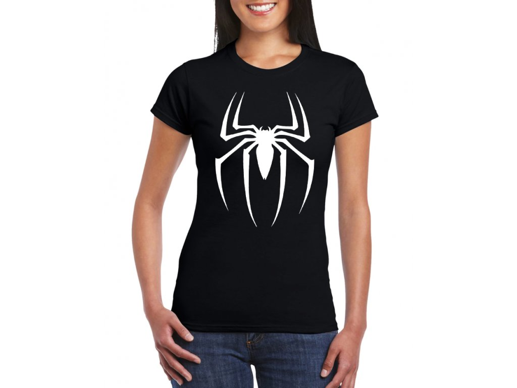 damske tricko Spiderman pavouk