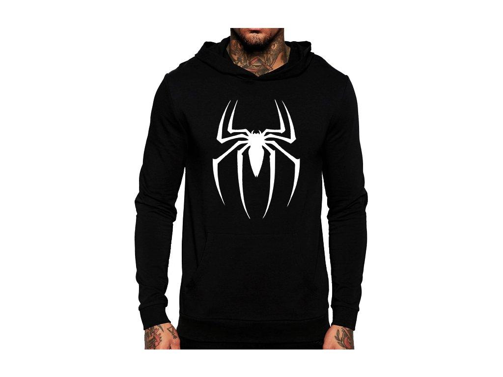 mikina s kapucí spiderman pavouk