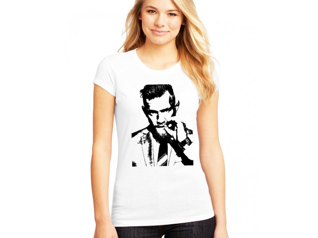 dámské bílé tričko conor mcgregor UFC