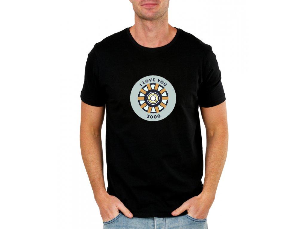 Pánské tričko Ironman miluji tě 3000