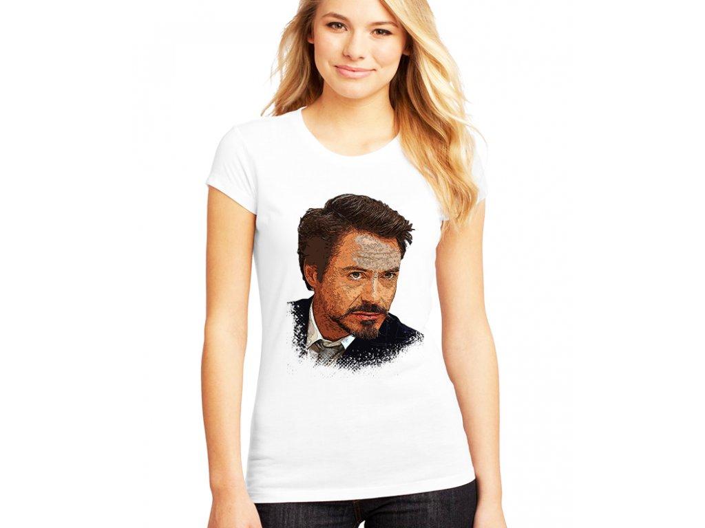 Dámské tričko Ironman Tony Stark