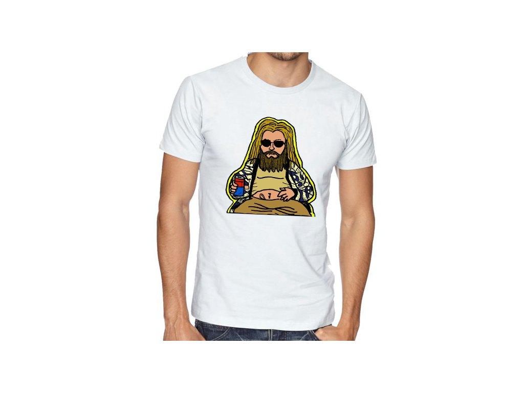 Pánské tričko Tlustý Thor