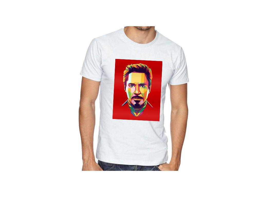 Pánské tričko RDJ Iron man