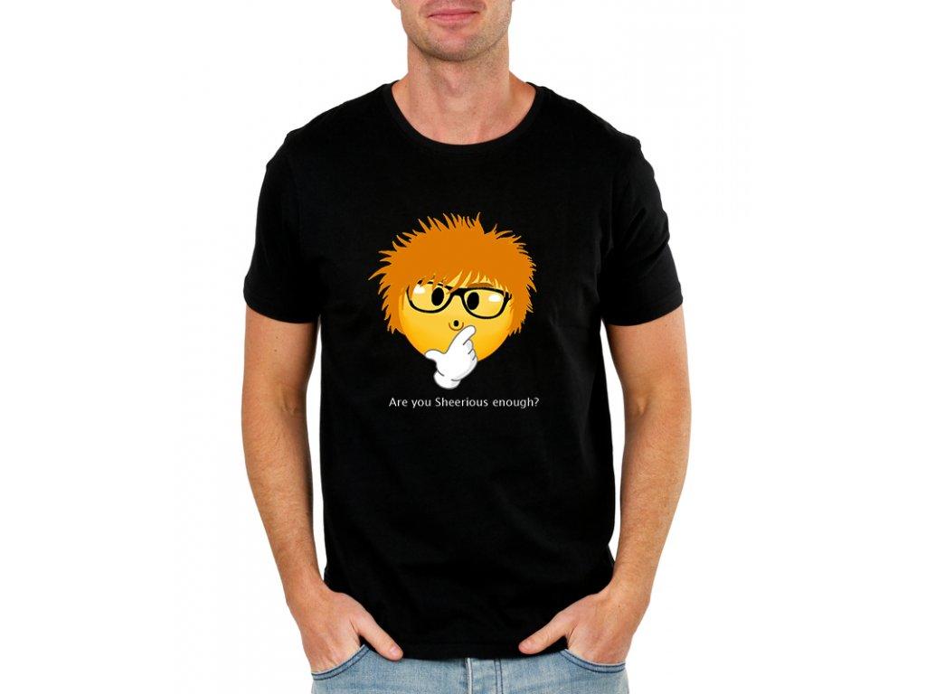 Pánské tričko ed sheeran myslíš to vážně