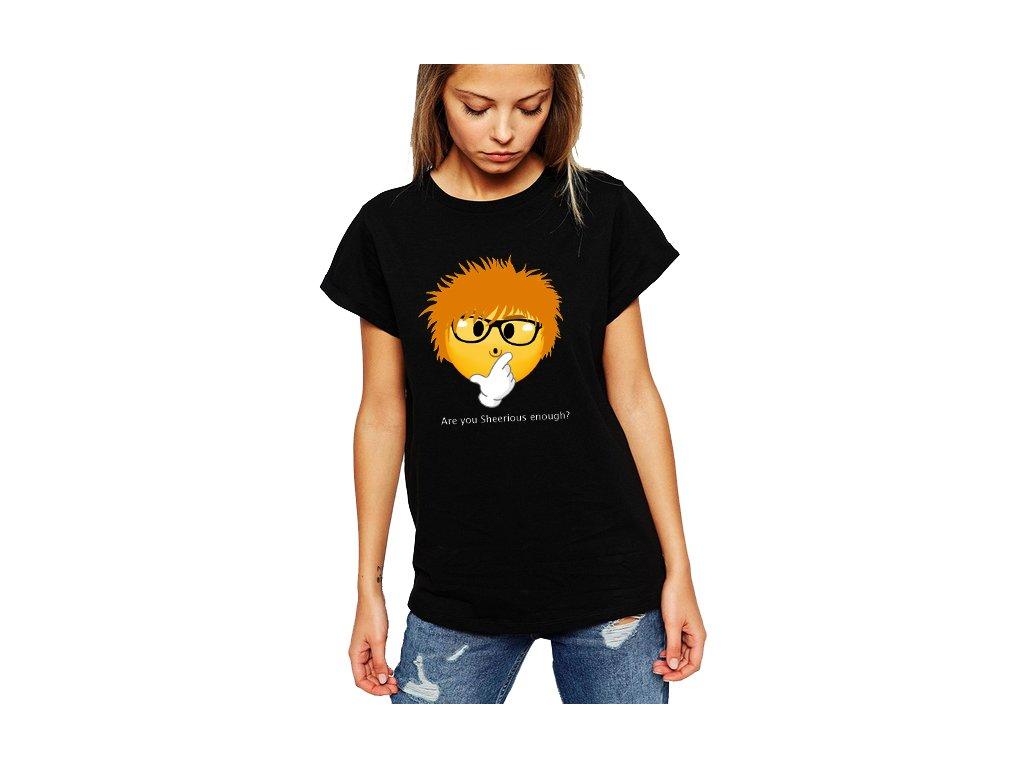 Dámské tričko ed sheeran myslíš to vážně