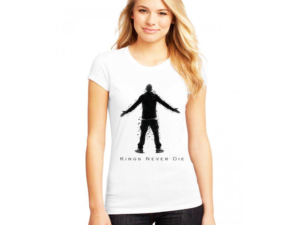 Dámské tričko Eminem kings never die