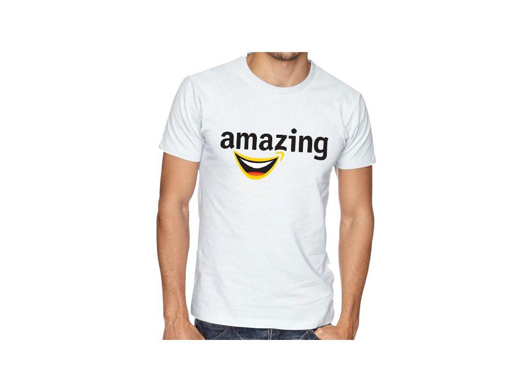 Pánské tričko amazon parodie