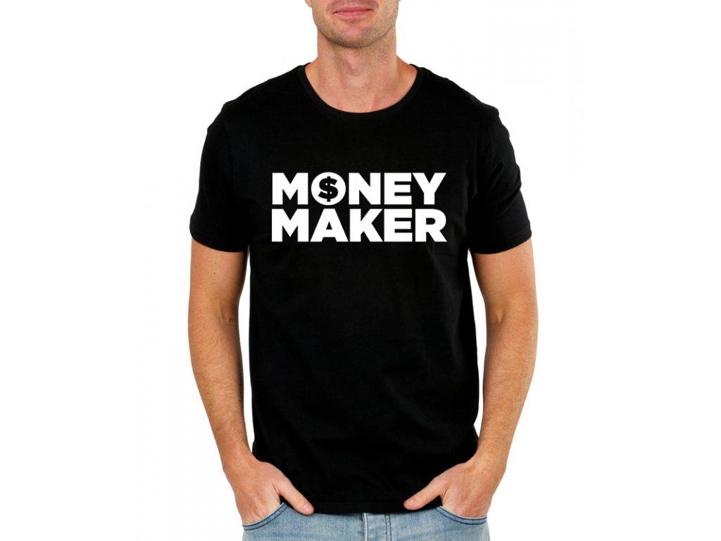 panske tricko Money Maker