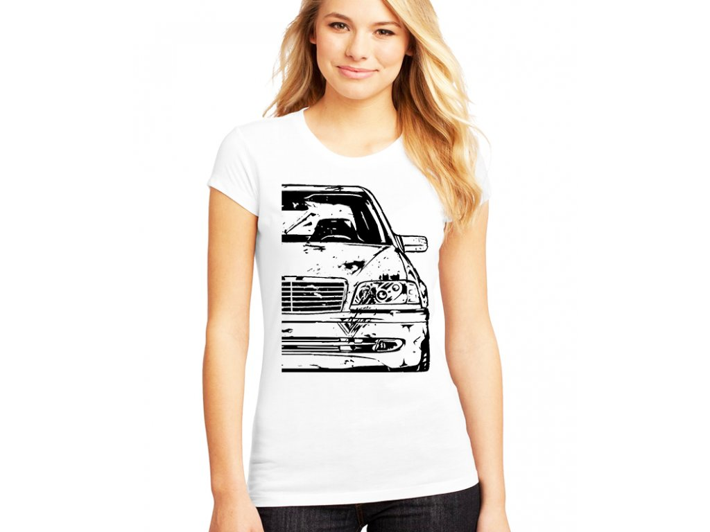 dámské tričko mercedes w202