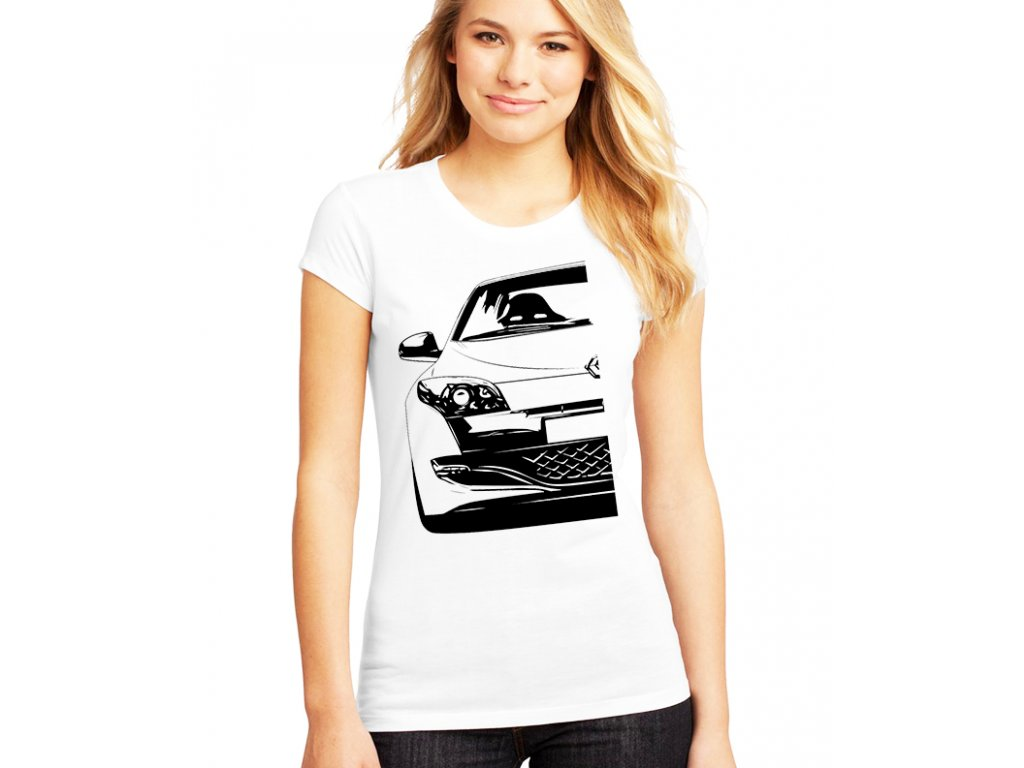 dámské tričko renault megane