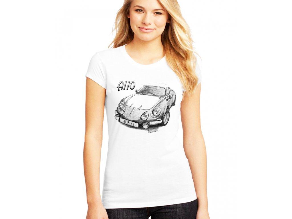 dámské tričko Renault Alpine