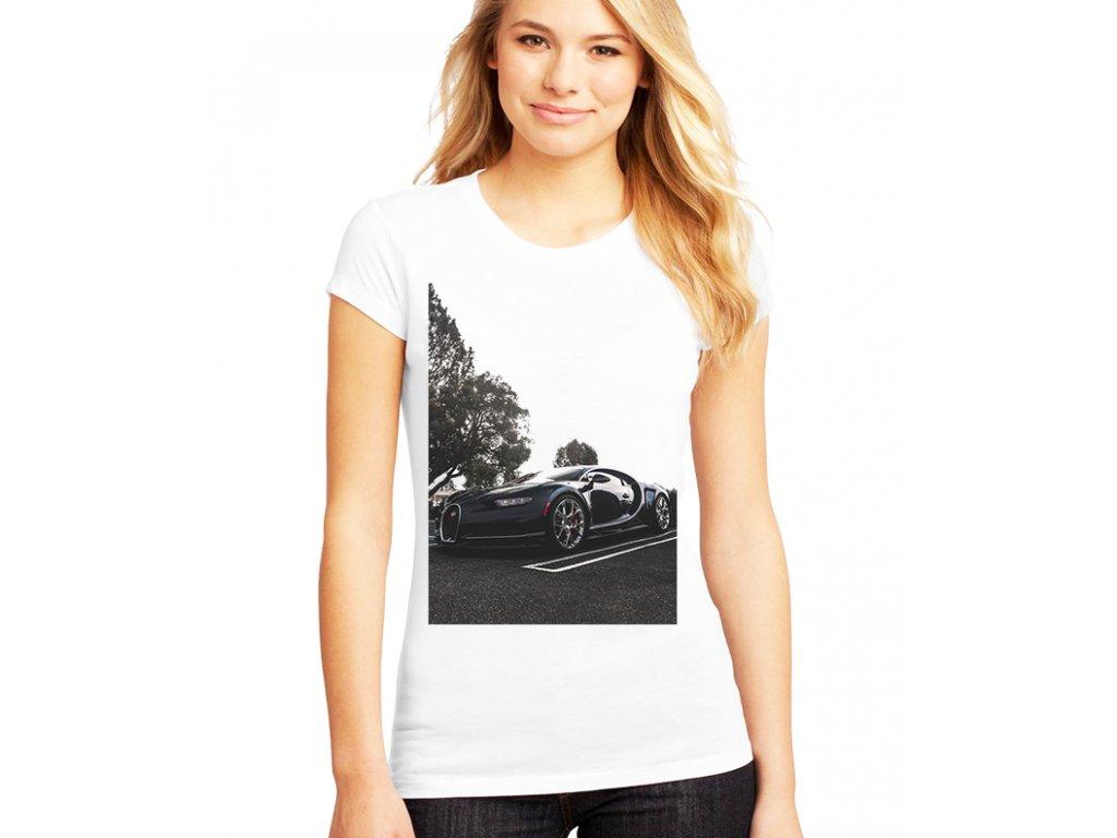 dámské tričko Bugatti chiron