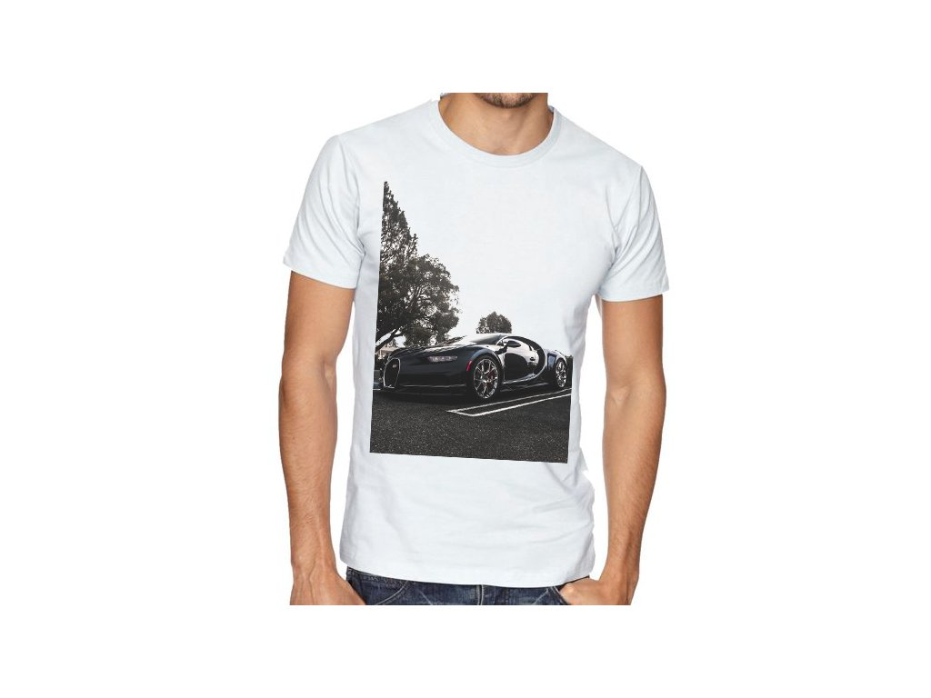 pánské tričko Bugatti chiron