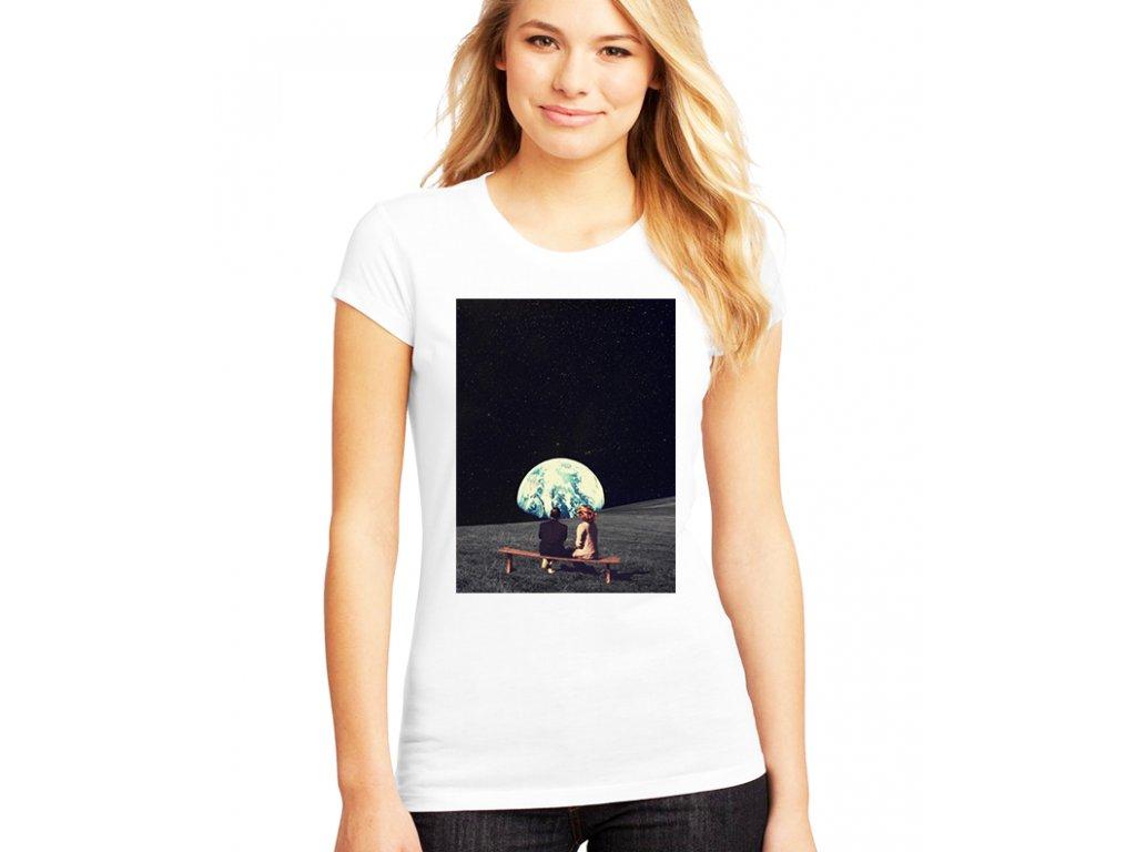 dámské tričko měsíc