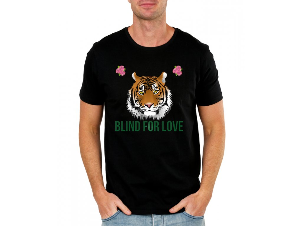 Pánské tričko Blind for love