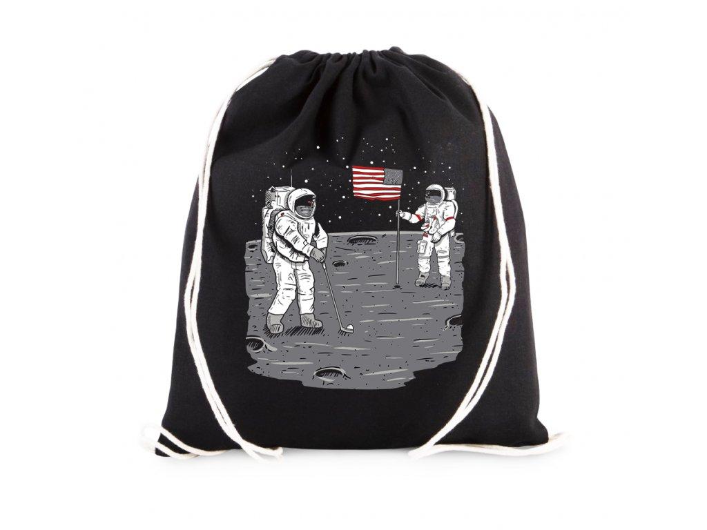 vak Golf na Měsíci