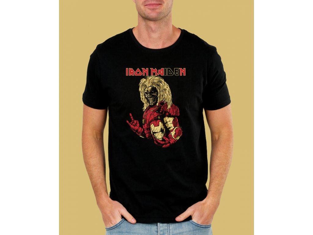 tričko iron maiden s motivem iron man