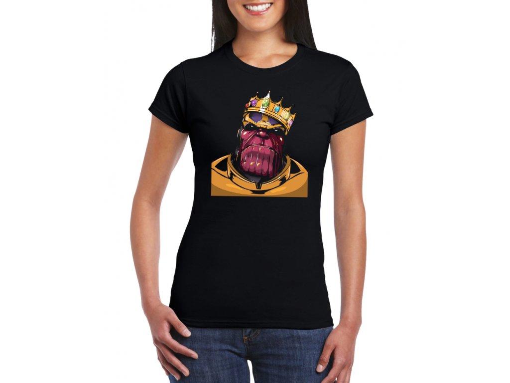 pánské tričko thanos avengers infinity war
