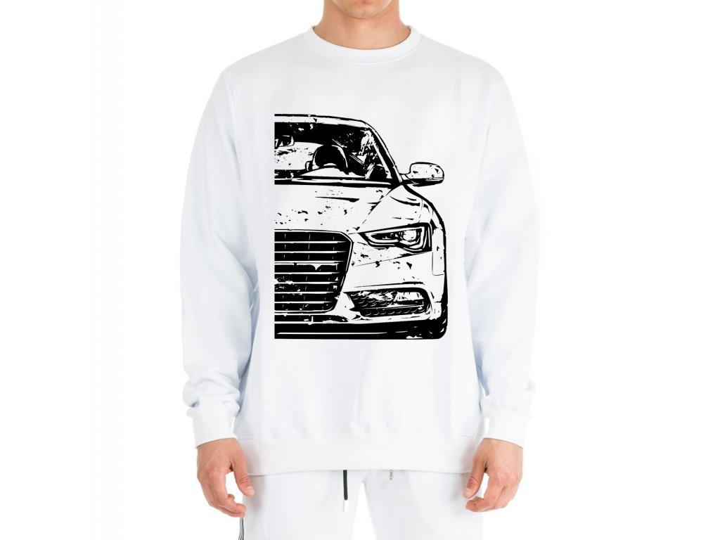 mikina bez kapuce Audi A5