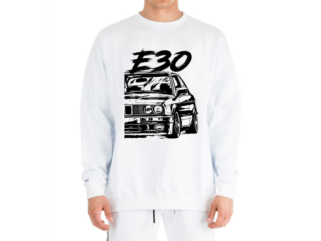 mikina bez kapuce BMW E30