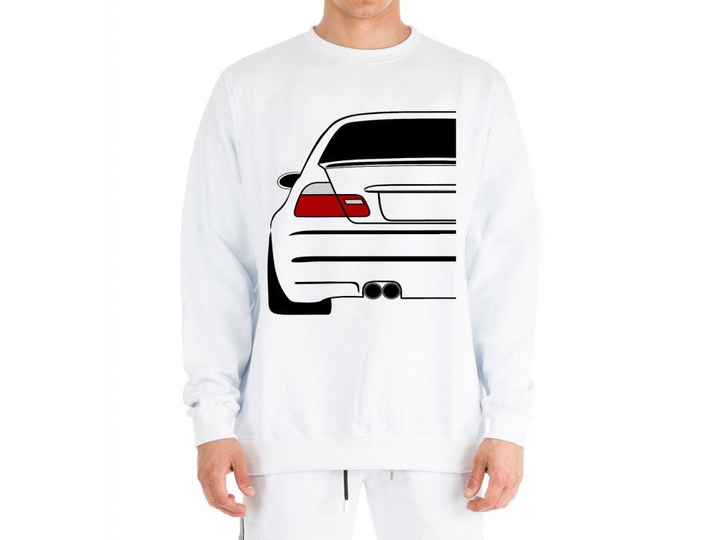 mikina bez kapuce BMW E46 Zadek auta