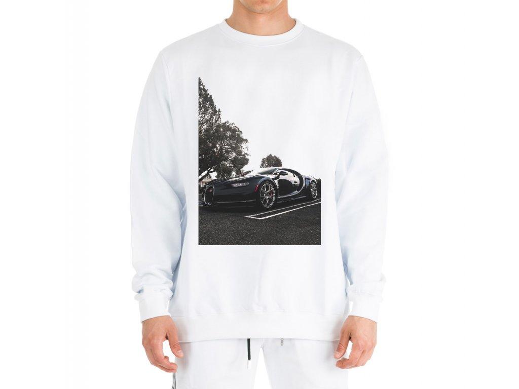 mikina bez kapuce Bugatti chiron