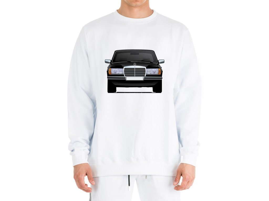mikina bez kapuce Mercedes Benz W123