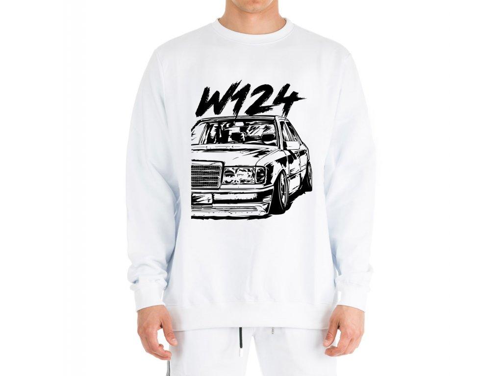 mikina bez kapuce Mercedes Benz W124