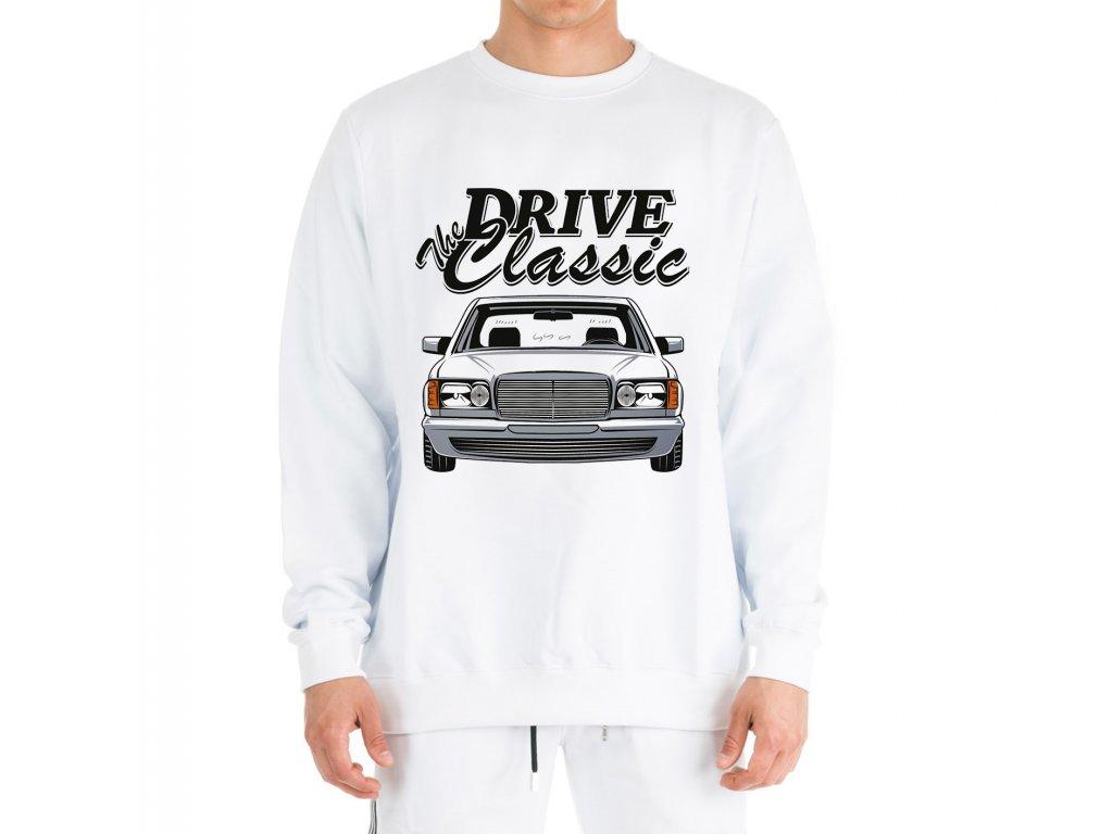mikina bez kapuce Mercedes Benz W126