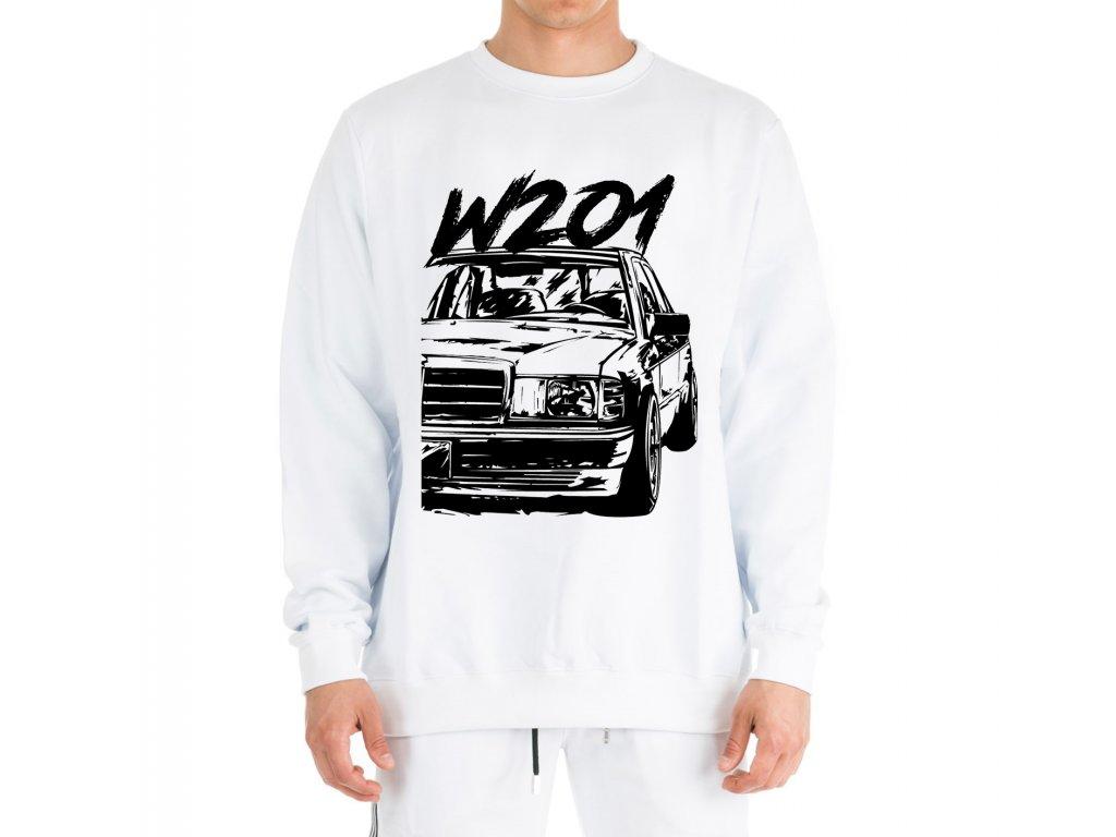 mikina bez kapuce Mercedes Benz W201