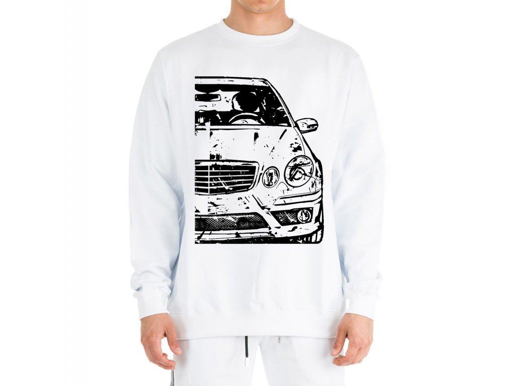 mikina bez kapuce Mercedes W211