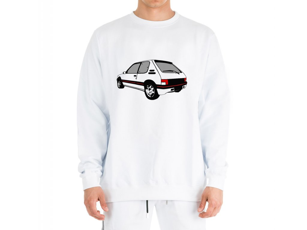 mikina bez kapuce Peugeot 205