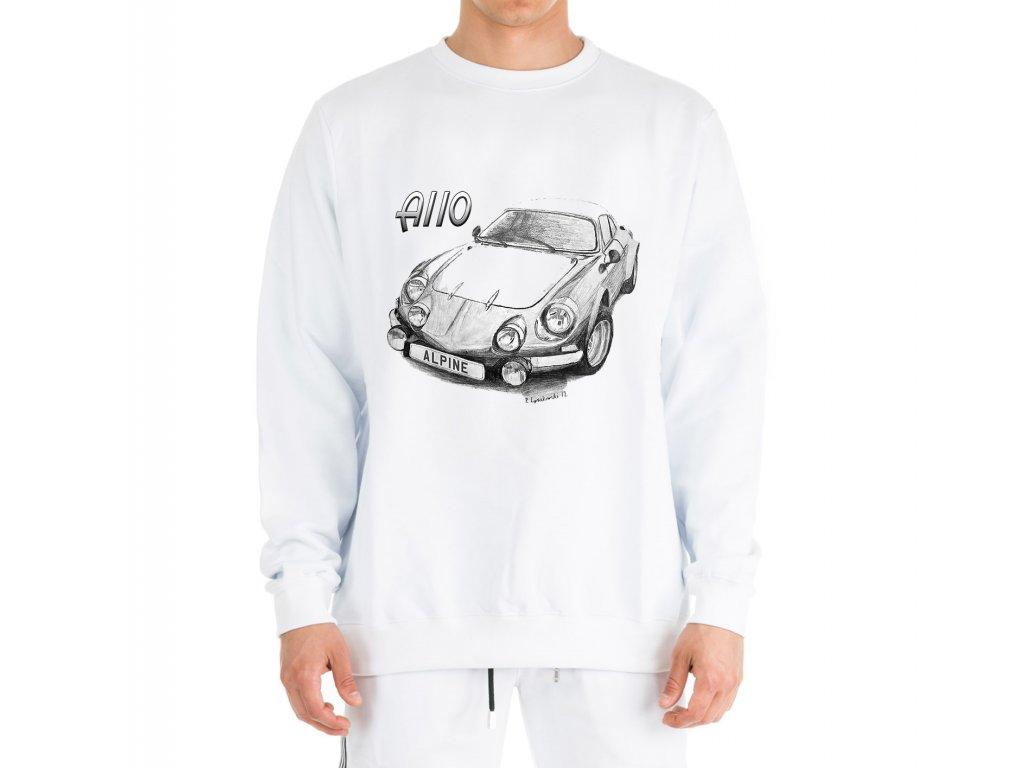 mikina bez kapuce Renault Alpine