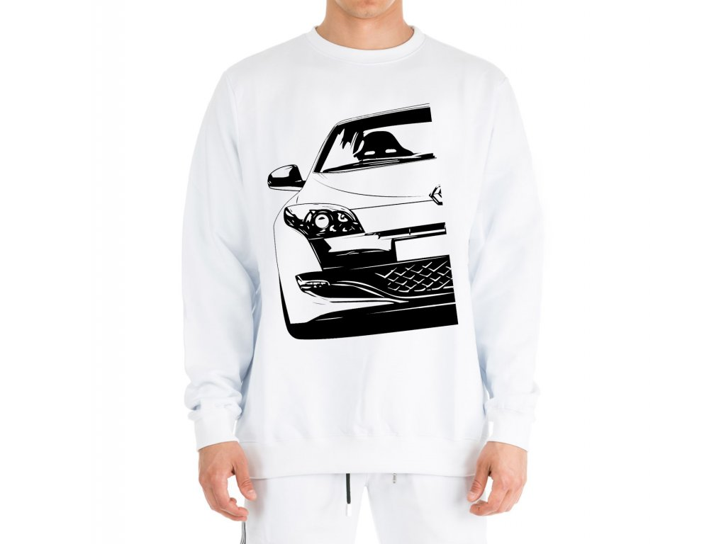 mikina bez kapuce Renault Megane