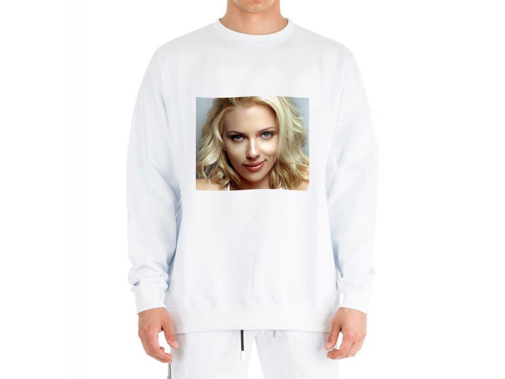 mikina bez kapuce Scarlett Johansson