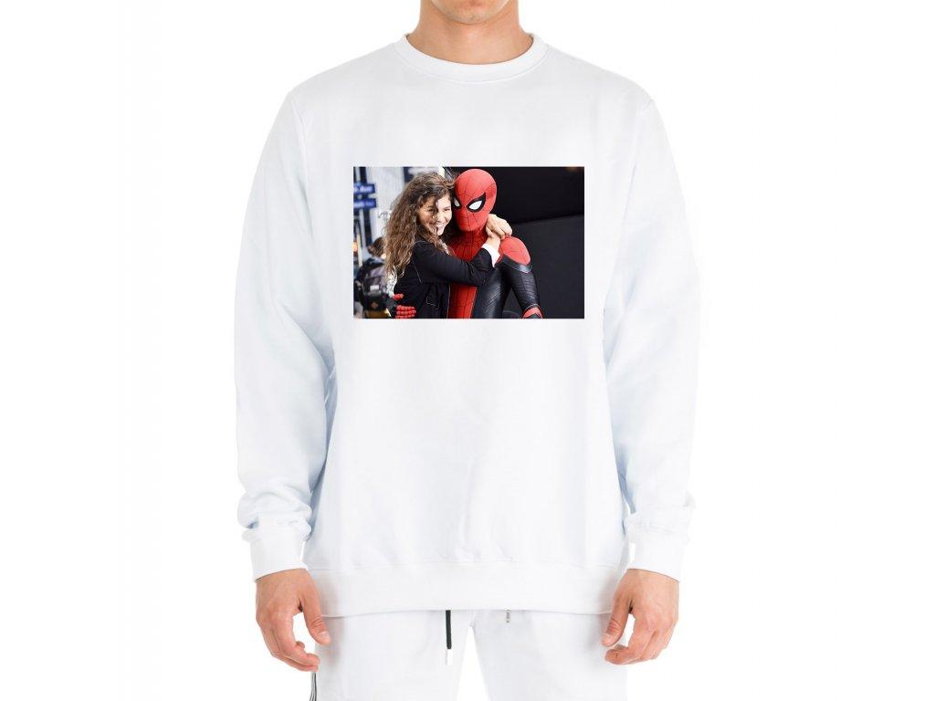 mikina bez kapuce zendaya a spiderman