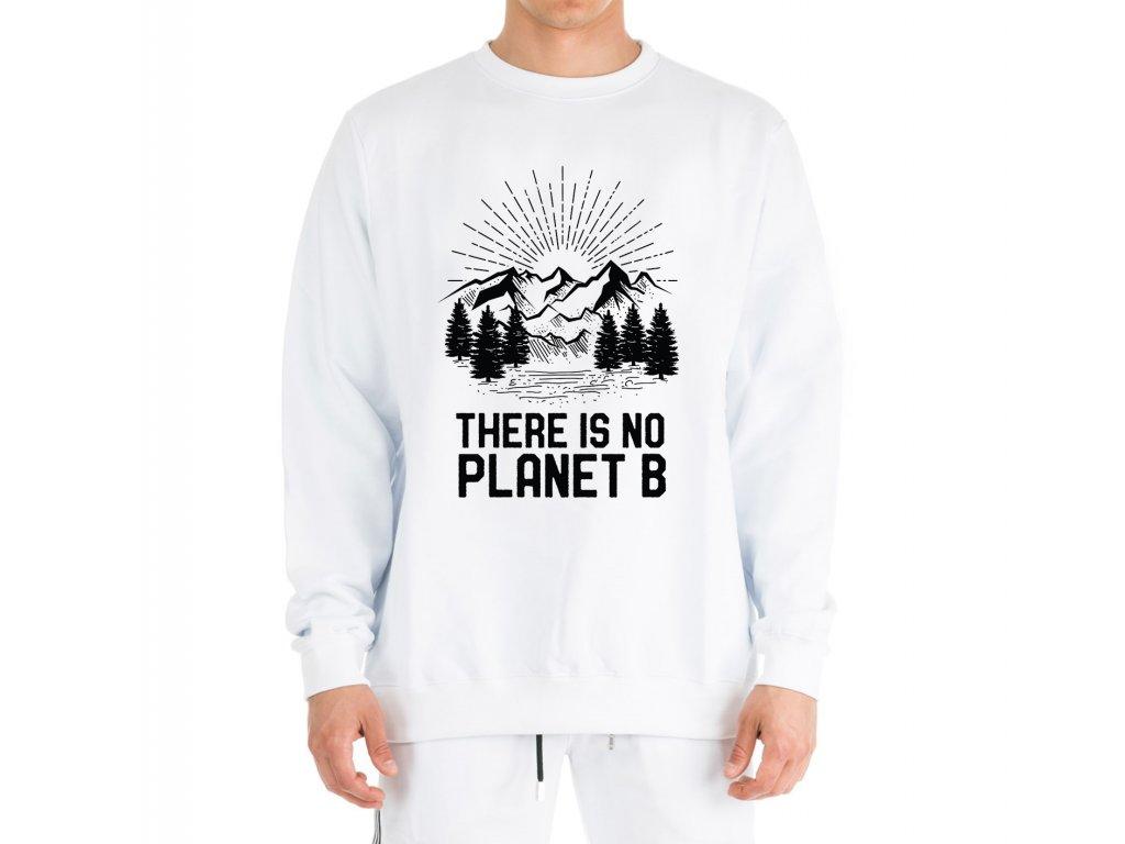mikina bez kapuce Země Není tady planeta B