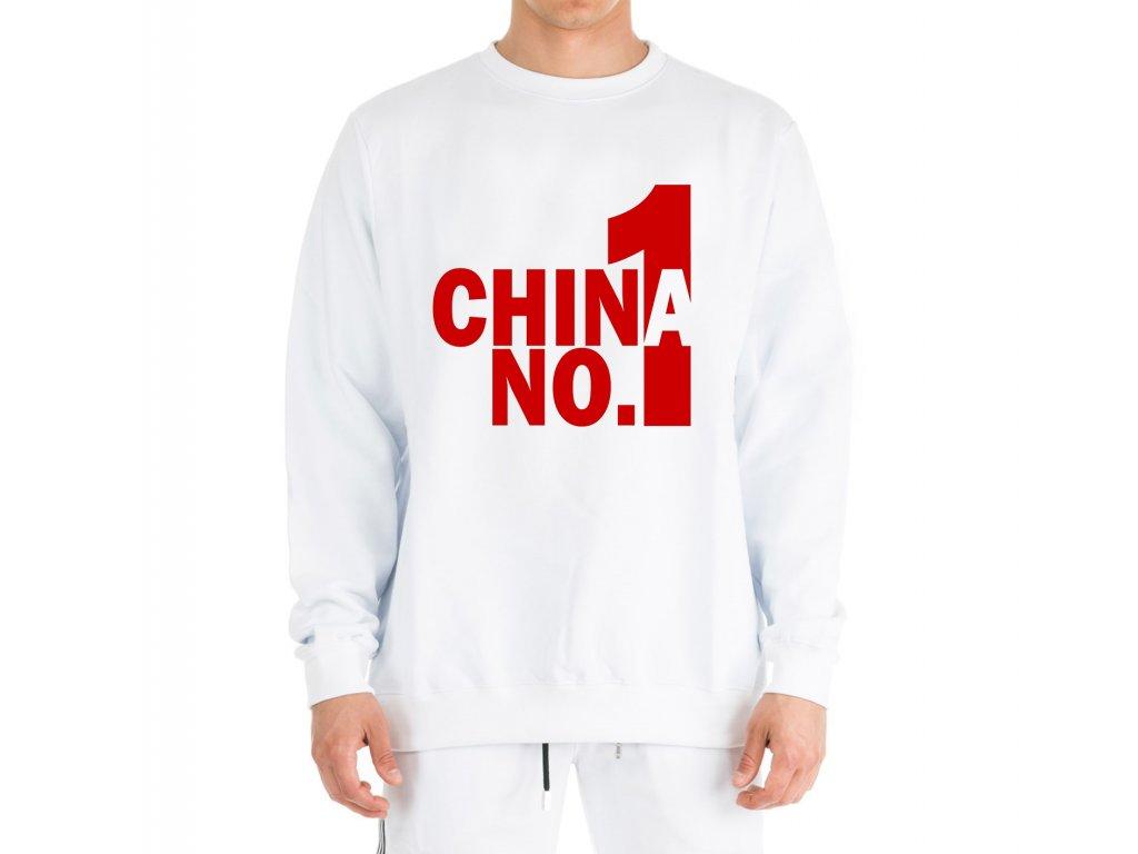 mikina bez kapuce Pubg china number one