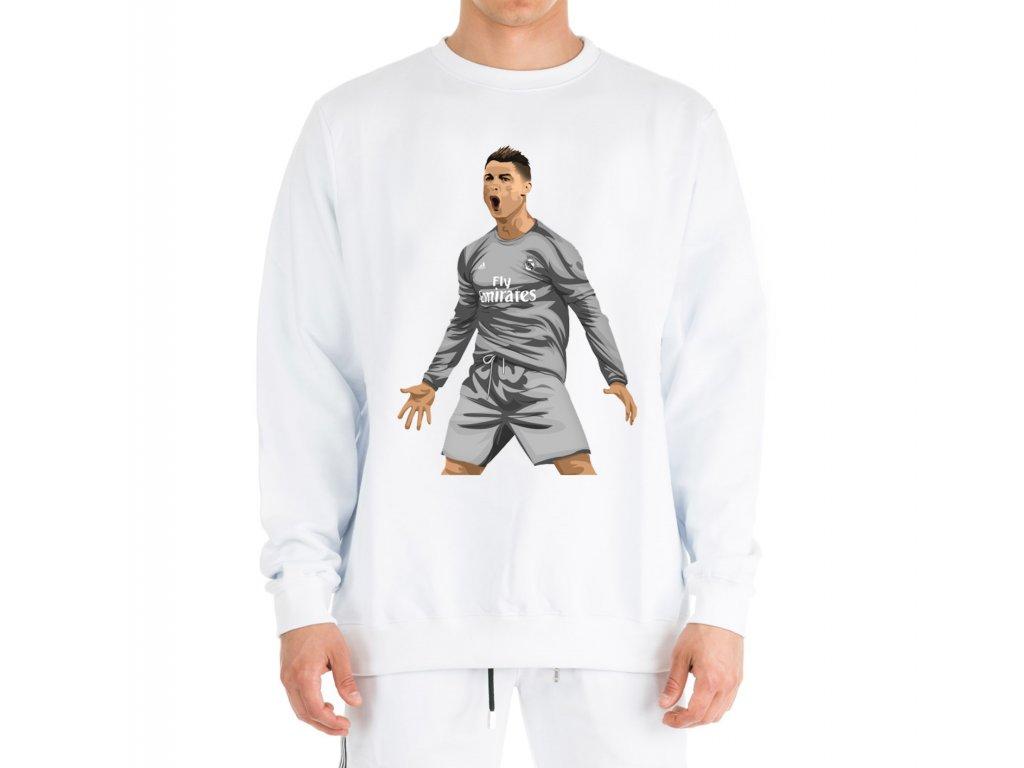 mikina bez kapuce Cristiano Ronaldo Real madrid