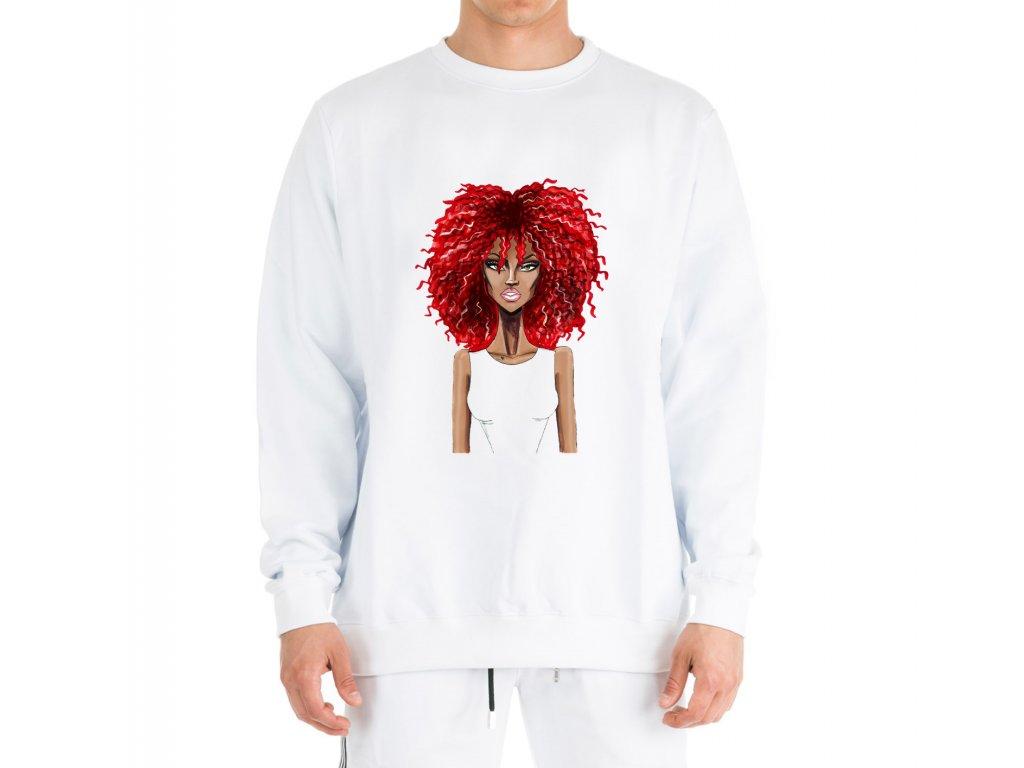 mikina bez kapuce Rihanna