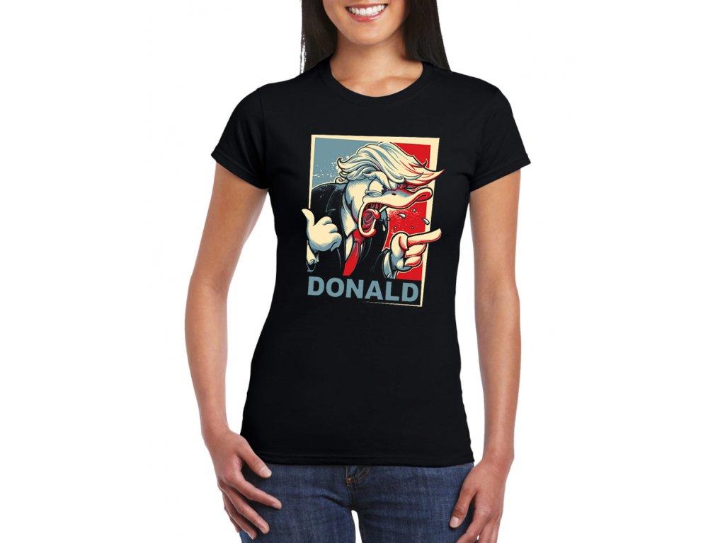 damske tricko Donald Trump